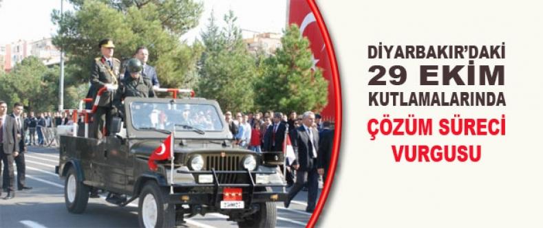 Diyarbakır'da 29 Ekim Kutlamalarında Çözüm Süreci Vurgusu