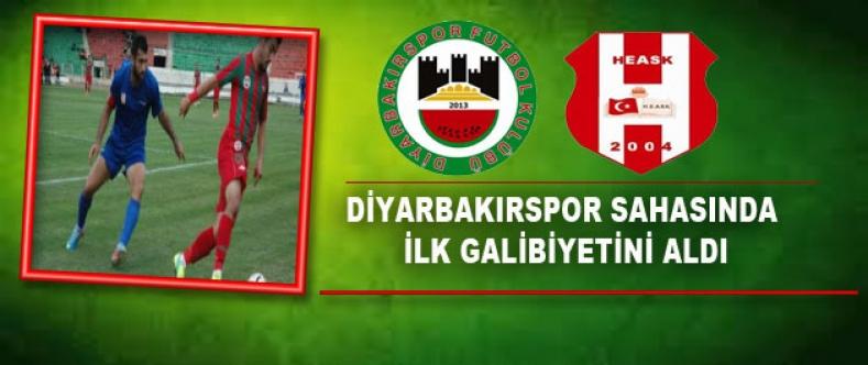 Diyarbakırspor Sahasında İlk Galibiyetini Aldı