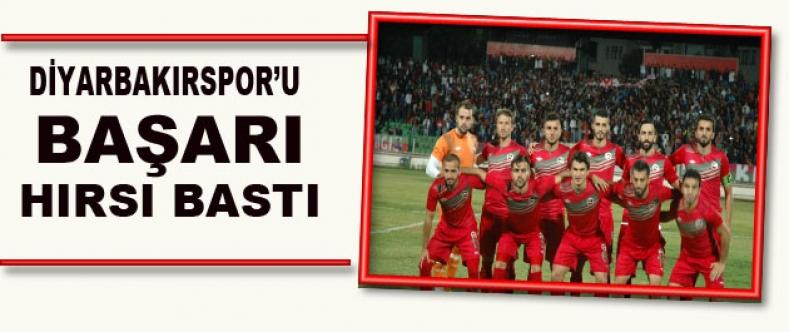 Diyarbakırspor'u Hırs Bastı