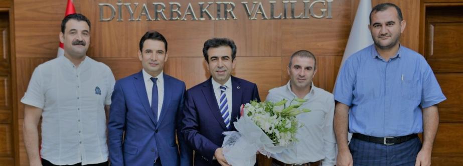 GSYD'den Vali Güzeloğlu'na Ziyaret