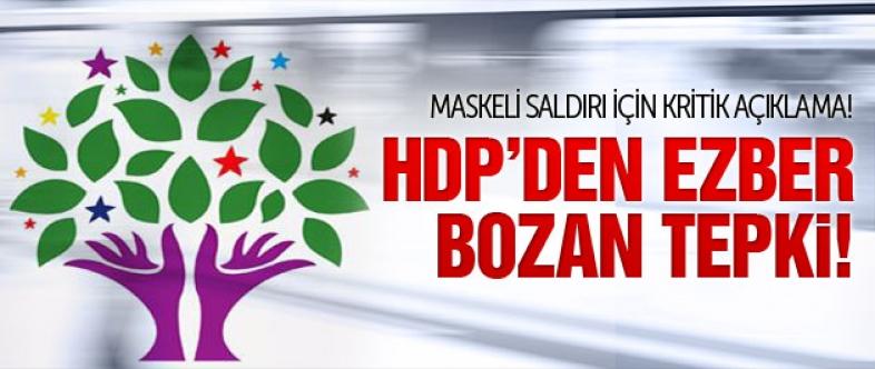 HDP'den Diyarbakır'daki saldırı için flaş açıklama!