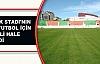 Atatürk Stadı'nın Zemini Futbol İçin Elverişli Hale Getirildi