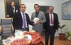 Çınar Kaymakamı İsmail Şanlı Okullara Spor Malzemesi Dağıttı