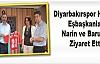Diyarbakırspor Heyeti, Eşbaşkanlar Narin ve Barut'u Ziyaret Etti