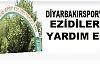 Diyarbakırspor'dan Ezidilere Yardım Eli
