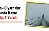 Mardin-Diyarbakır Yolunda Kaza: 1 Ölü, 1 Yaralı