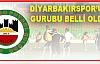 Yeni Diyarbakırspor A.Ş.'nin Grubu Belli Oldu