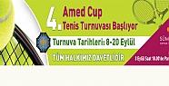 4. Amed Cup Tenis Turnuvası başlıyor