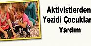 Aktivistlerden Yezidi Çocuklara Yardım
