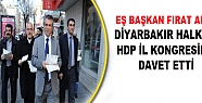 Anlı, Halkı HDP İl Kongresi'ne Davet...
