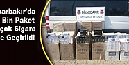 Diyarbakır'da 18 Bin Paket Kaçak Sigara...