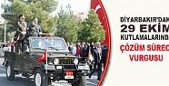 Diyarbakır'da 29 Ekim Kutlamalarında Çözüm...
