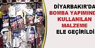 Diyarbakır'da Bomba Yapımında Kullanılan...