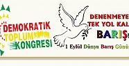 DTK'den 1 Eylül Dünya Barış Günü...