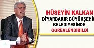 Hüseyin Kalkan, Diyarbakır B.Ş.Belediyesinde...