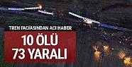 İstanbul seferini yapan tren devrildi:...