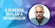 O ülkeden Öcalan'a onursal vatandaşlık!