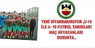 YENİ DİYARBAKIRSPOR ,U-14 İLE U- 19 FUTBOL...