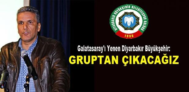 Galatasaray'ı Yenen Diyarbakır Büyükşehir:
