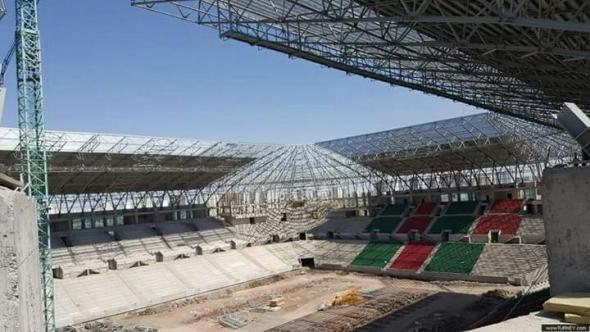 Yeni Stadyum Bitmek Üzere