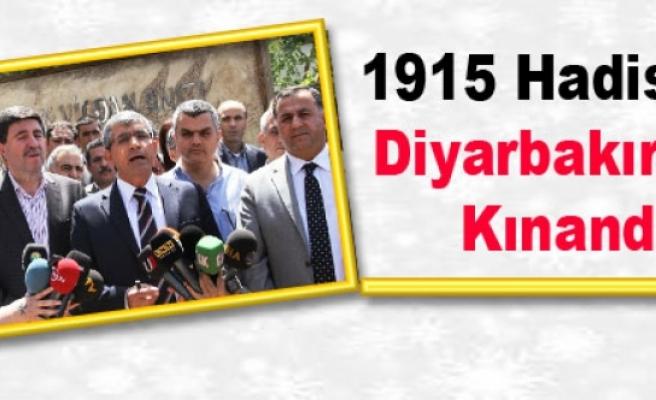 1915 Hadisesi Diyarbakır'da Kınandı