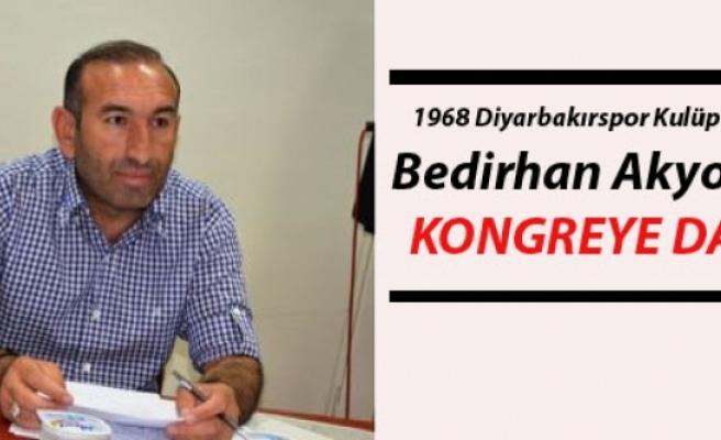 1968 Diyarbakırspor Kulüp Başkanı Bedirhan Akyoldan Kongreye Davet