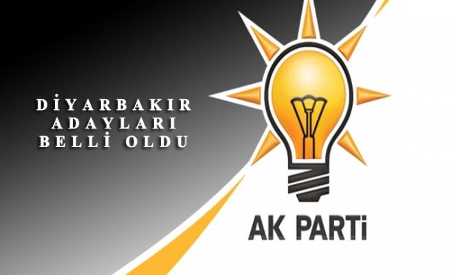 31 Mart Yerel Seçimleri için Ak Parti Diyarbakır 17 İlçe Adayını Belirledi