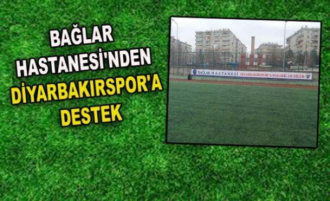 BAĞLAR HASTANESİ'NDEN DİYARBAKIRSPOR'A DESTEK