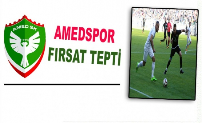 AMEDSPOR FIRSAT TEPTİ