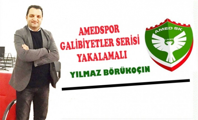 AMEDSPOR GALİBİYETLER SERİSİ YAKALAMALI