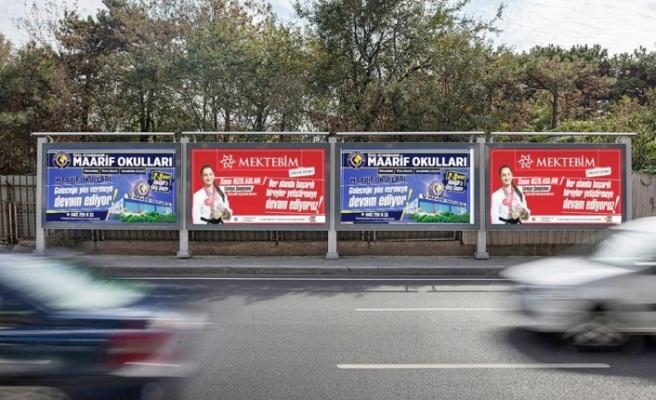 Milli Karateci Sena billboardlarda!