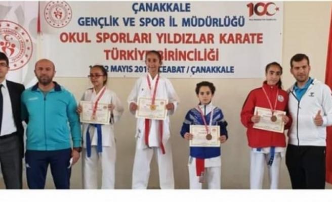 Diyarbakırlı Sporcu Türkiye Şampiyonu