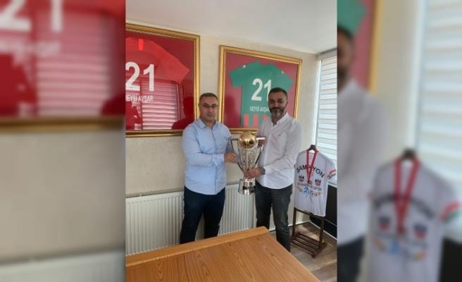 Şampiyonluk Kupası Geldi