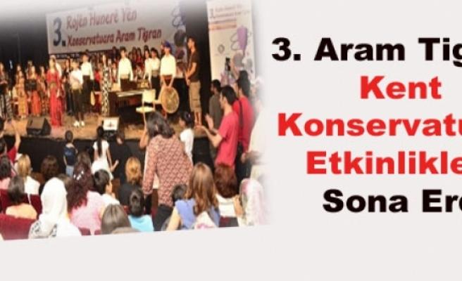 3. Aram Tigran Kent Konservatuarı Etkinlikleri Sona Erdi