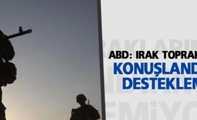 ABD: Irak topraklarına asker...