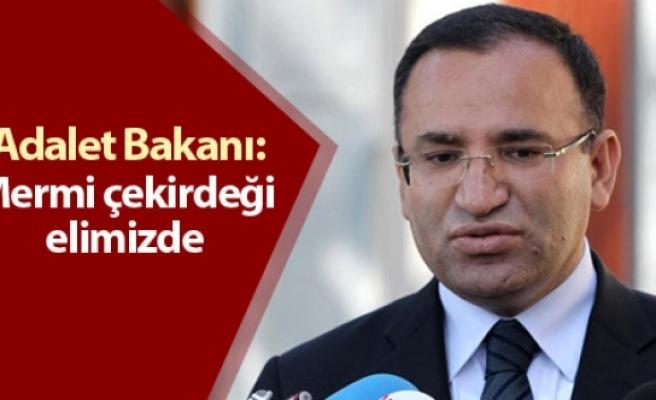 Adalet Bakanı'ndan mermi çekirdeği açıklaması