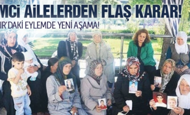 Ailelerden Diyarbakır'daki eylem için flaş karar!