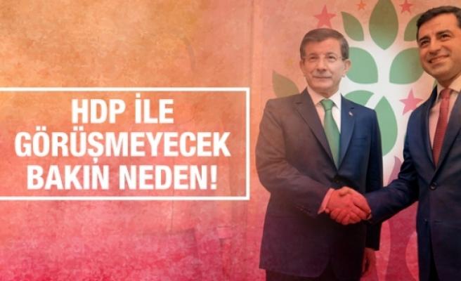 AK Parti - HDP görüşmesi iptal flaş açıklama