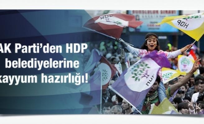 AK Parti'den HDP belediyelerine kayyum hazırlığı!