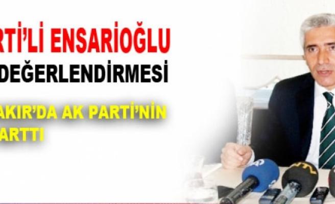 AK Parti'li Ensarioğlu'dan Seçim Değerlendirmesi