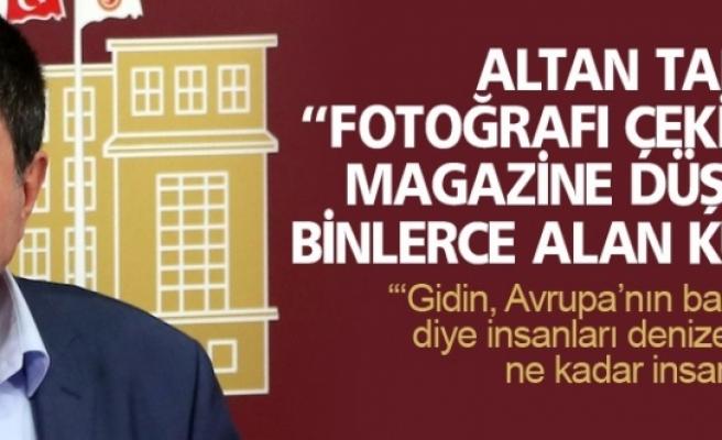 Altan Tan: Bodrum'da sahile vuran Alan Kurdi'yi hatırlattı