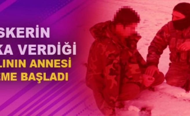 Askerin Parka Verdiği PKK'lının Annesi Eyleme Başladı