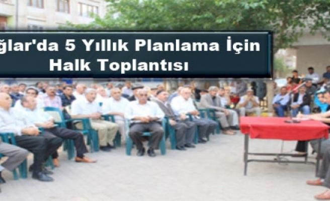 Bağlar'da 5 Yıllık Planlama İçin Halk Toplantısı