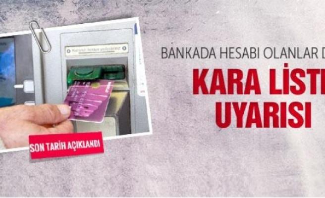 Bankada hesabı olanlar için son tarih 28 Nisan