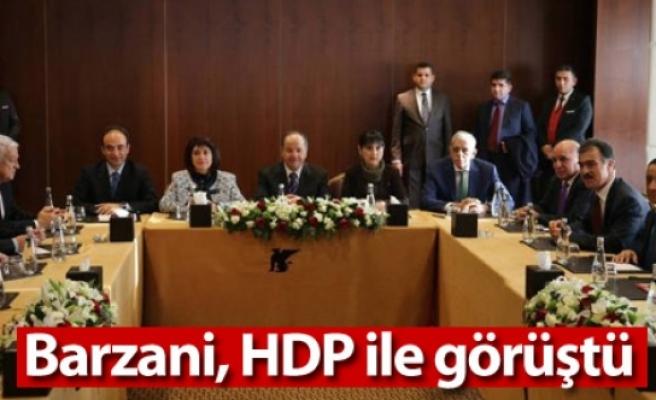 Barzani, HDP ile görüştü