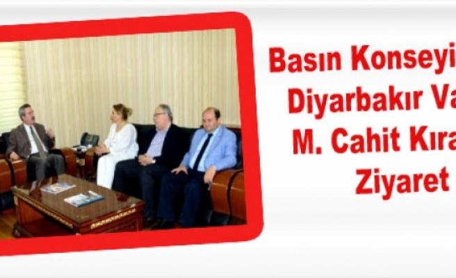 Basın Konseyinden Diyarbakır Valisi Kıraç'a Ziyaret