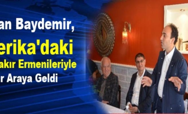 Baydemir, Amerika'daki Diyarbakır Ermenileriyle Bir Araya Geldi