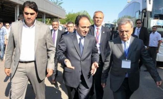 Baydemir'den CHP Heyetine Sıcak Karşılama