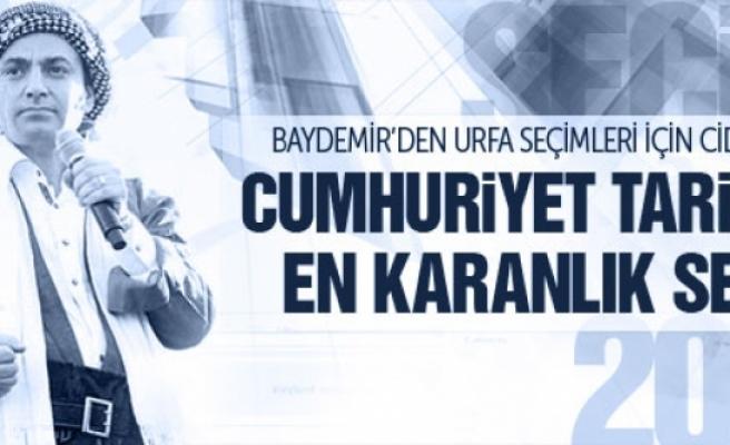 Baydemir'den Urfa seçimlerinde hile iddiası!