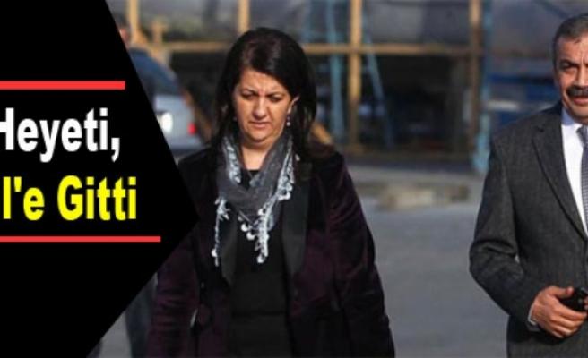 BDP Heyeti, Kandil'e Gitti